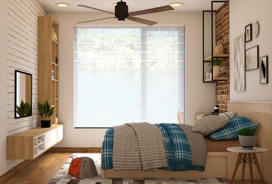 bedroom, mattress, bag